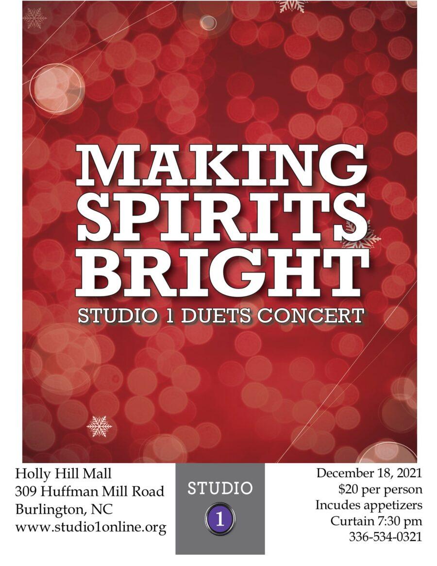 Duets Concert – Making Spirits Bright